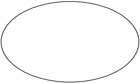 ellipse drawn with 3x3 gif